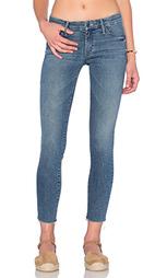 Прямые джинсы looker ankle fray - MOTHER