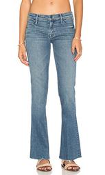 Расклешенные джинсы runaway fray - MOTHER