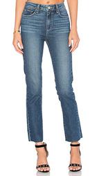 Прямые джинсы с потрёпанным низом jacqueline - Paige Denim