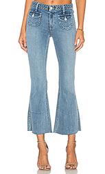 Укороченные расклёшенные джинсы penelope - Tularosa