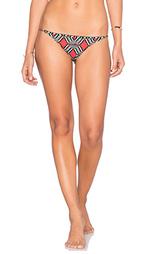 Полосатые плавки бикини с отделкой бисером maasai - SKYE & staghorn