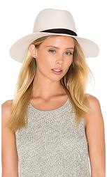 Шляпа федора camellia wide brimmed classic - Janessa Leone