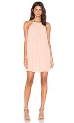Платье с плиссированными кружевами сзади june - Greylin