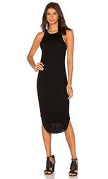 Сеточное миди платье - Bella Luxx