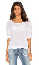 Прямая сеточная футболка - Bella Luxx