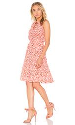 Мини платье sleeveless provence block - Rebecca Taylor