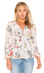 Топ long sleeve meadow floral - Rebecca Taylor