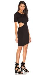 Платье-рубашка с вырезом - LNA