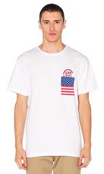 Футболка x revolve flag - CLOT