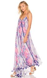 Макси-платье с глубоким вырезом на спине - ROCOCO SAND