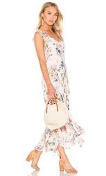 Макси платье с рюшами meadow - Rebecca Taylor