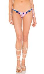 Плавки бикини с завяками по бокам с кисточками - ROCOCO SAND