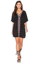 Платье с бисерной шнуровкой xico - PIPER