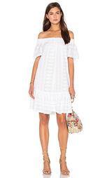 Вышитое сетчатое платье без рукавов - Rebecca Taylor