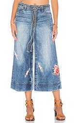 Укороченные джинсы canni - TORTOISE
