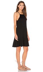 Мини платье с юбкой-солнцеклёш - Lanston