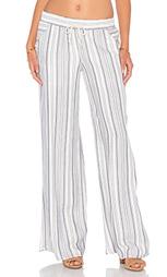 Широкие брюки в полоску - Lanston