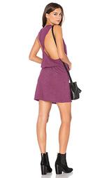 Платье с перекрученными бретельками сзади - Lanston