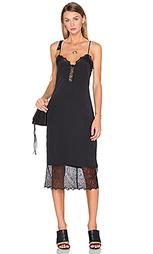 Платье-комбинация emma lace hem - House of Harlow 1960