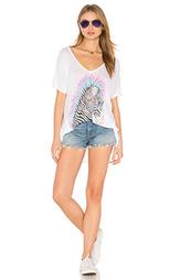 Свободная футболка с v-обраным вырезом trista - Lauren Moshi