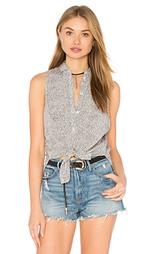 Рубашка с застёжкой на пуговицах - Bella Luxx