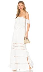 Макси платье с открытыми плечами emma - Greylin