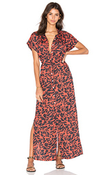 Макси платье на пуговицвх - Salinas