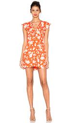 Цветочное платье со шнуровкой без рукавов - J.O.A.