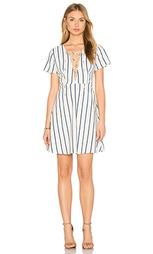 Платье со шнуровкой lace-up - Lucca Couture