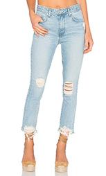 Зауженные джинсы с высоким поясом logan - Lovers + Friends