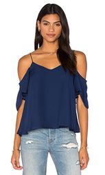 Блуза с открытыми плечами и застежкой на пуговицы сзади - Haute Hippie