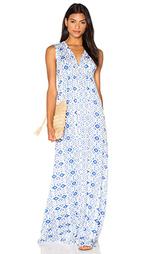 Платье в восточном стиле с длинным рукавом - Rachel Pally