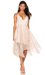 Платье с цветочными кружевами - NICHOLAS