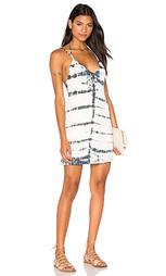 Платье на бретеьках с глуоким v-образным вырезом на спине - Gypsy 05