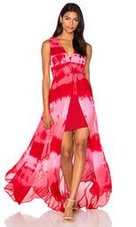 Платье с размытыми вставками - Haute Hippie