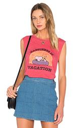 Майка happiness is vacation - DAYDREAMER
