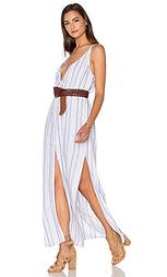 Макси платье на пуговицах спереди - Bella Dahl