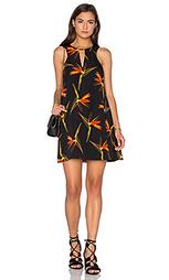 Цельнокроеное платье с вырезом-капля без рукавов - J.O.A.