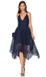 Бальное платье с гео цветочными кружевами - NICHOLAS