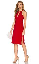 Миди платье с вырезом-капля спереди без рукавов - J.O.A.