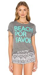 Футболка beach por favor - Chaser