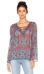 Блуза с завязкой bonbon - Line & Dot