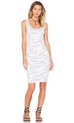Платье со складками на бретельках - MONROW