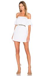 Платье с открытыми плечами и рукавами-колокол - MILLY