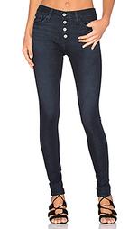 Узкие джинсы на пуговицах farrah - AG Adriano Goldschmied