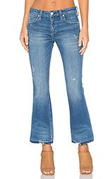 Укороченные расклёшенные джинсы jane - AMO