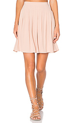 Плиссированная мини юбка holiester - American Vintage