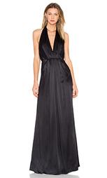 Вечернее платье на бретельках с глубоким вырезом - JILL JILL STUART