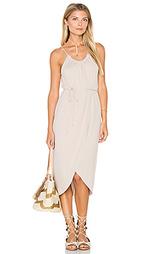 Платье-холтер с запахом alina - Michael Stars