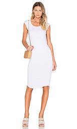 Платье с рукавами-фонариками - MONROW